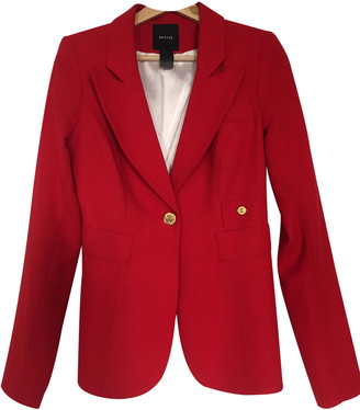 Smythe Red Wool Jacket for Women