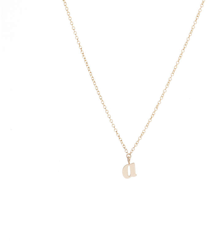 Ariel Gordon Alphabet Charm Necklace