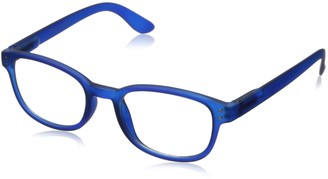Corinne McCormack Women's Blue Color Spex 1015411-000.CMC Square Reading Glasses