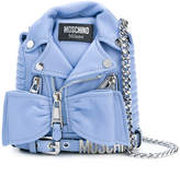 Moschino biker backpack bag