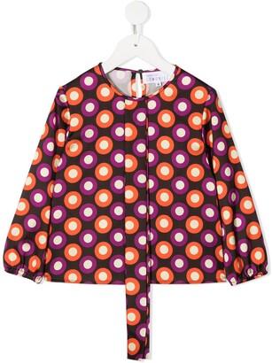 Señorita Lemoniez TEEN Dora spot print blouse