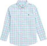 Vineyard Vines Palm Beach Check Button-Down Shirt