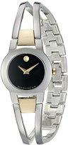 Movado Women's Swiss Quartz Stainless Steel Casual Watch (Model: 0606893)