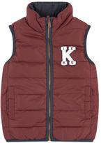 Ikks Reversible down vest