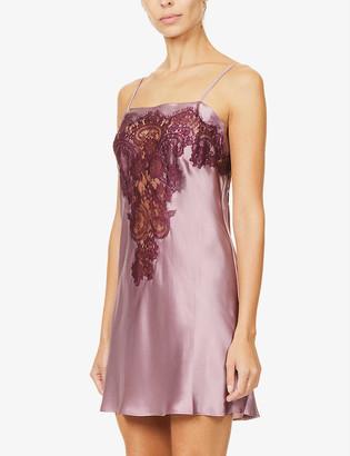 Nk Imode Dovima silk-satin and lace chemise