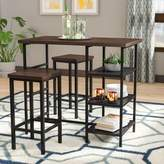 Bronx Ivy Du Bois 3 Piece Pub Table Set Ivy