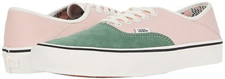 Vans Authentic SF ((Salt Wash) Atlantic Deep/Marshmallow) Lace up casual Shoes