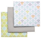 Boppy Flannel Receiving Baby Blanket (3pk)