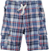 Carter's Plaid Shorts - Toddler Boys 2t-5t