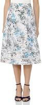 Reiss Rennie Printed Silk Skirt
