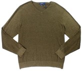 Polo Ralph Lauren Brown Mens Size XL Pullover V-Neck Sweater