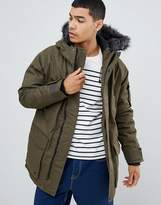 Bellfield Parka With Faux Fur Hood
