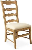 French Heritage Beaujolais Ladderback Side Chair, Ivory