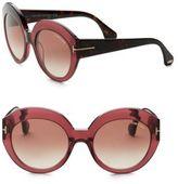 Tom Ford Rachel 54MM Round Sunglasses