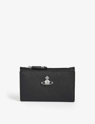 Vivienne Westwood Victoria leather card holder