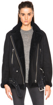 Acne Studios More Lamb Shearling Jacket