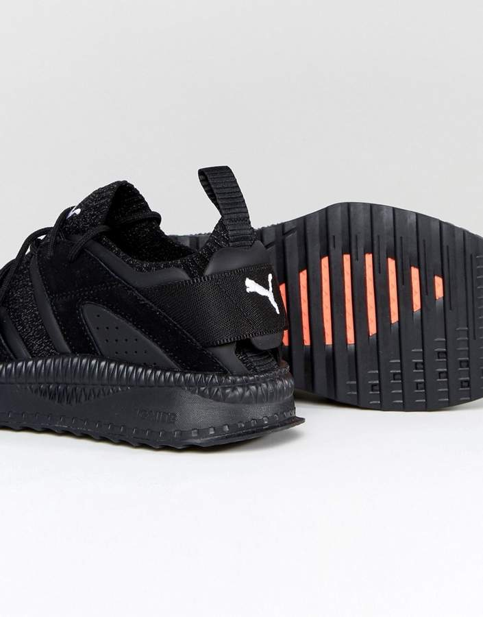 Puma Tsugi Blaze Evoknit Sneakers In Black 36440801