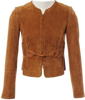 Valentino Brown Suede Jackets