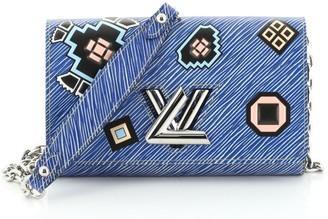 Louis Vuitton Twist Chain Wallet Limited Edition Azteque Epi Leather