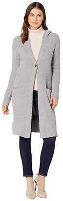 UGG Judith Hooded Cardigan (Black 1) Women's Sweater