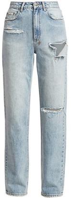 Ksubi Playback High-Rise Skream Trashed Jeans