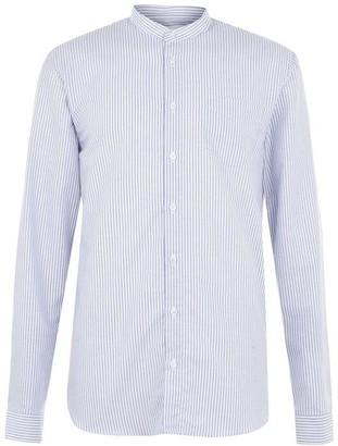 Libertine-Libertine Libertine Long Sleeve Granddad Collar Shirt