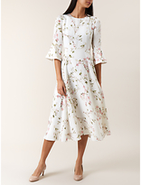 Hobbs Agatha Dress, Ivory/Multi