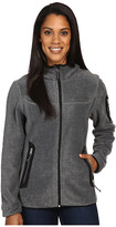 Free Country Lazer Cut Pockets Fleece Jacket
