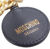 "Moschino Teddy Bear"" Pin Leather Key Chain"""