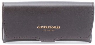 Oliver Peoples Round Frame Tinted Sunglasses