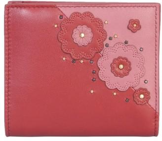 Bottega Veneta Petra Embroidered Wallet