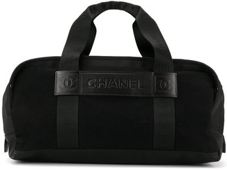 Chanel Pre Owned Sports Line Boston holdall