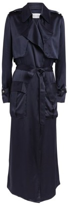 Michael Lo Sordo Silk Trench Coat