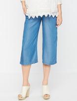 A Pea in the Pod Splendid Secret Fit Belly Cotton Woven Maternity Pants