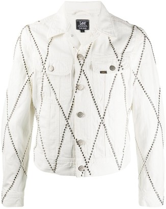 Stefan Cooke Argyle-Stud Denim Jacket