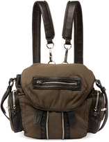Alexander Wang Marti Mini Nylon Backpack, Military