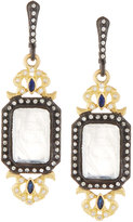 Armenta Old World Diamond, Moonstone & Sapphire Drop Earrings