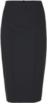 Oxford Monroe Suit Skirt Charcoal X