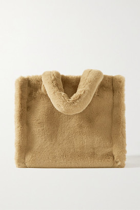 Stand Studio Lolita Faux Fur Tote - Light brown