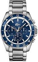 Lacoste Men's 2010856 Westport Analog Display Japanese Quartz Silver Watch