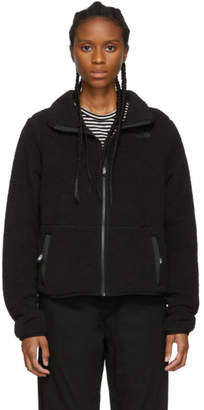 The North Face Black Sherpa Dunraven Crop Jacket