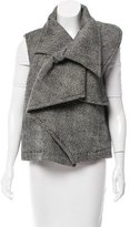 Haider Ackermann Oversize Tweed Vest w/ Tags
