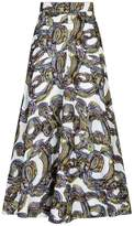 Roksanda Branca Baroque Embroidered Midi Skirt
