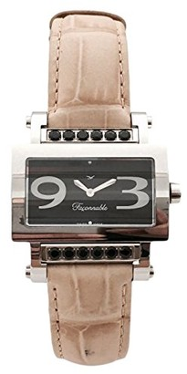 Façonnable Women's Analogue Classic Quartz Watch with Stainless Steel Strap FDRSC