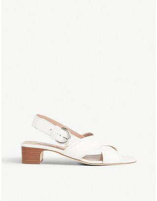 LK Bennett Noah sling-back leather sandals