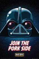 """Star Wars Angry Birds Poster """"Join The Pork Side"""" (61cm x 91,5cm) + a Bora Bora poster!"""