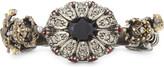 Alexander McQueen King and Queen double skull ring