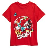Mighty Fine Toddler Boy's X Disney Oh Snap Graphic T-Shirt
