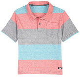 First Wave 2T-7 Striped Polo Shirt