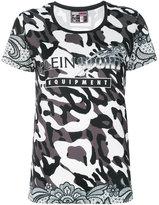 Plein Sport camouflage print T-shirt